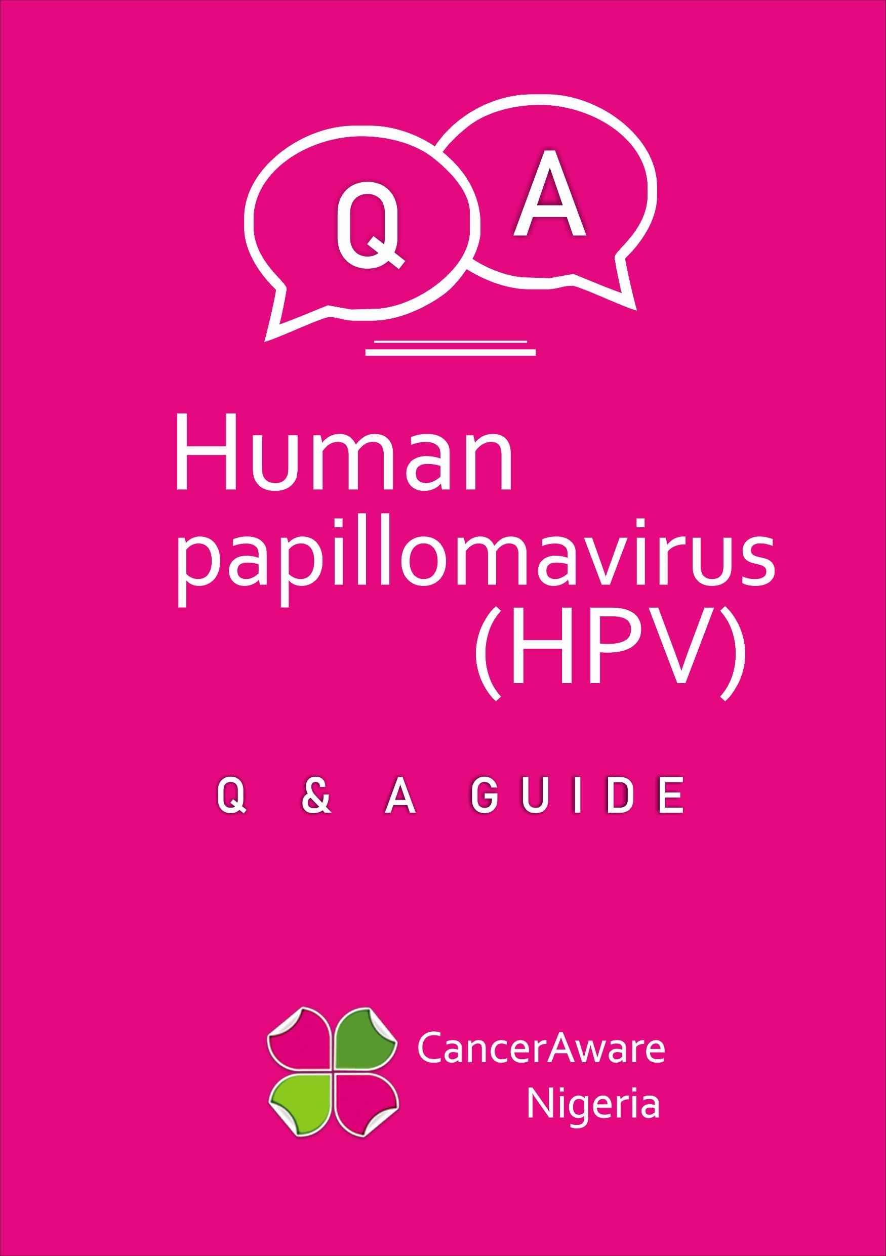 HPV Guide E-Book   CancerAware Nigeria