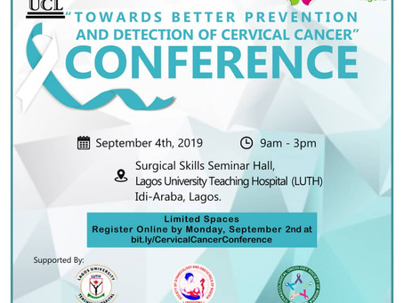 """Towards Better Prevention and Detection of Cervical Cancer"" Conference 2019"