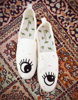 shoes en toile