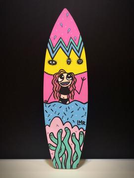 mini planche de surf