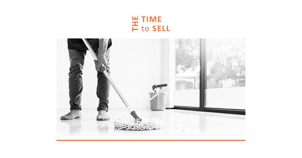 întreținerea spațiilor unei afaceri de vânzare pentru pregătirea afacerii de vânzare