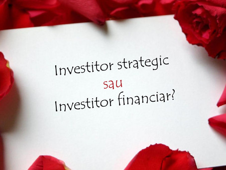 Investitor strategic sau investitor financiar?