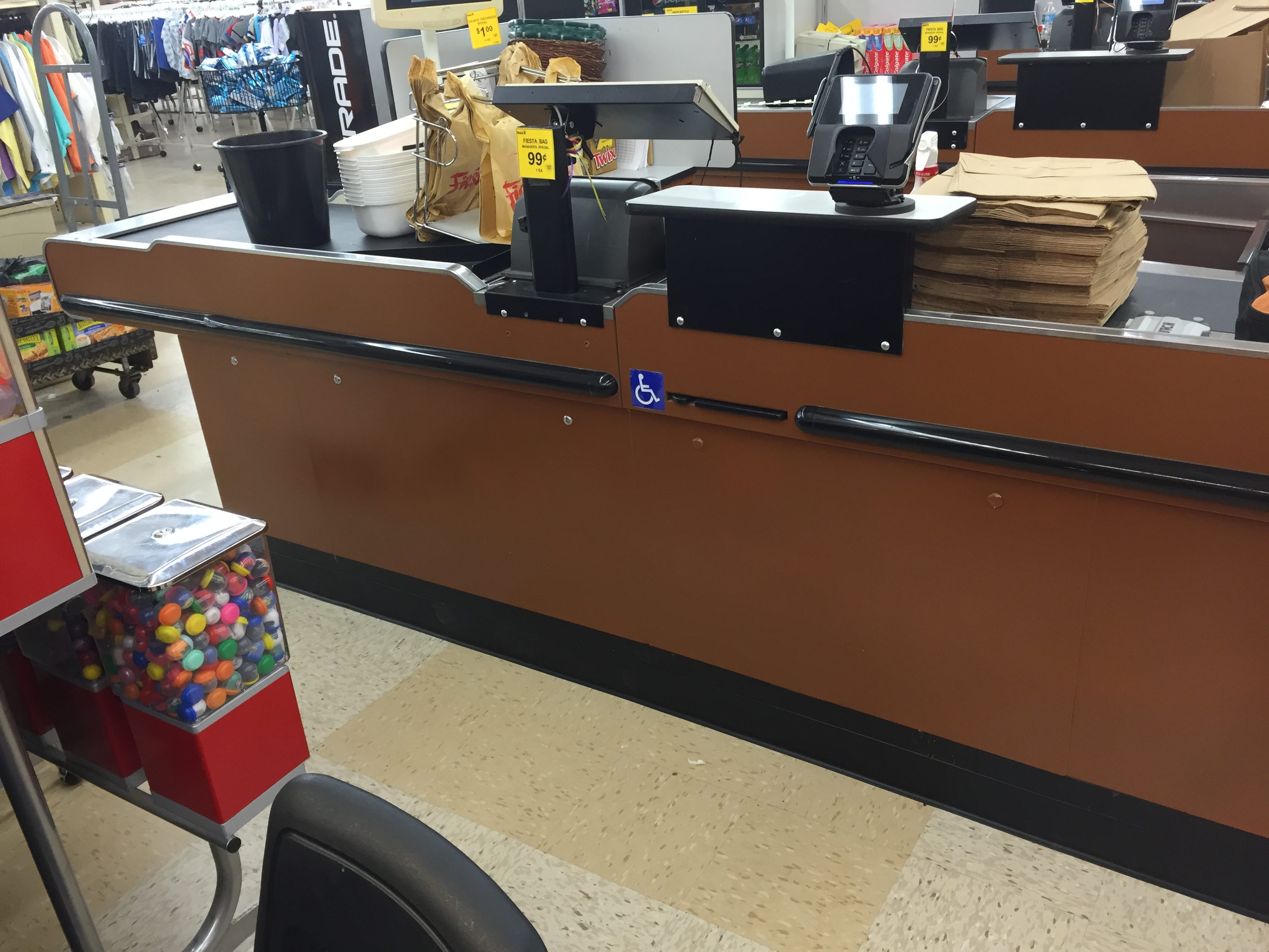 grocery check stands