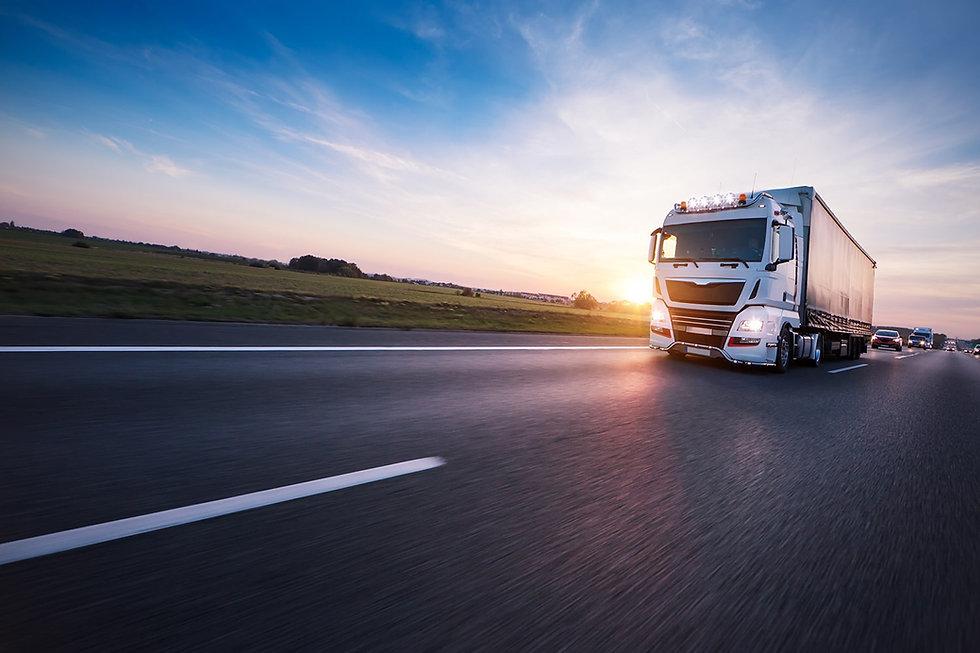 Loaded_European_truck_on_motorway_in_sun