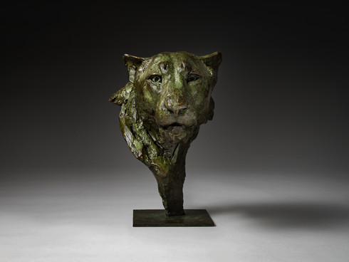 Lioness Bust