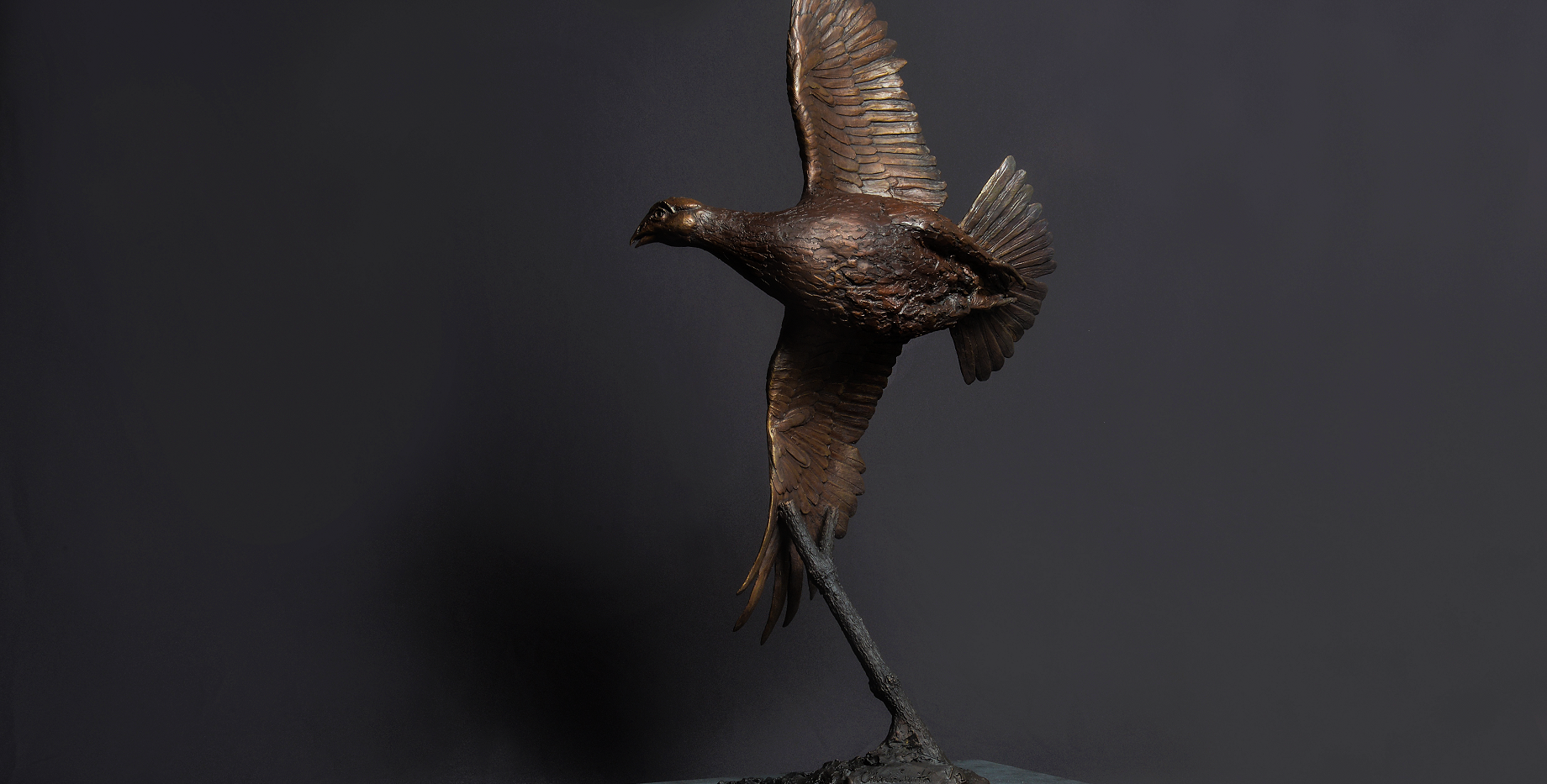 Flying Grouse