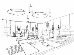 Harwood Yoga studio