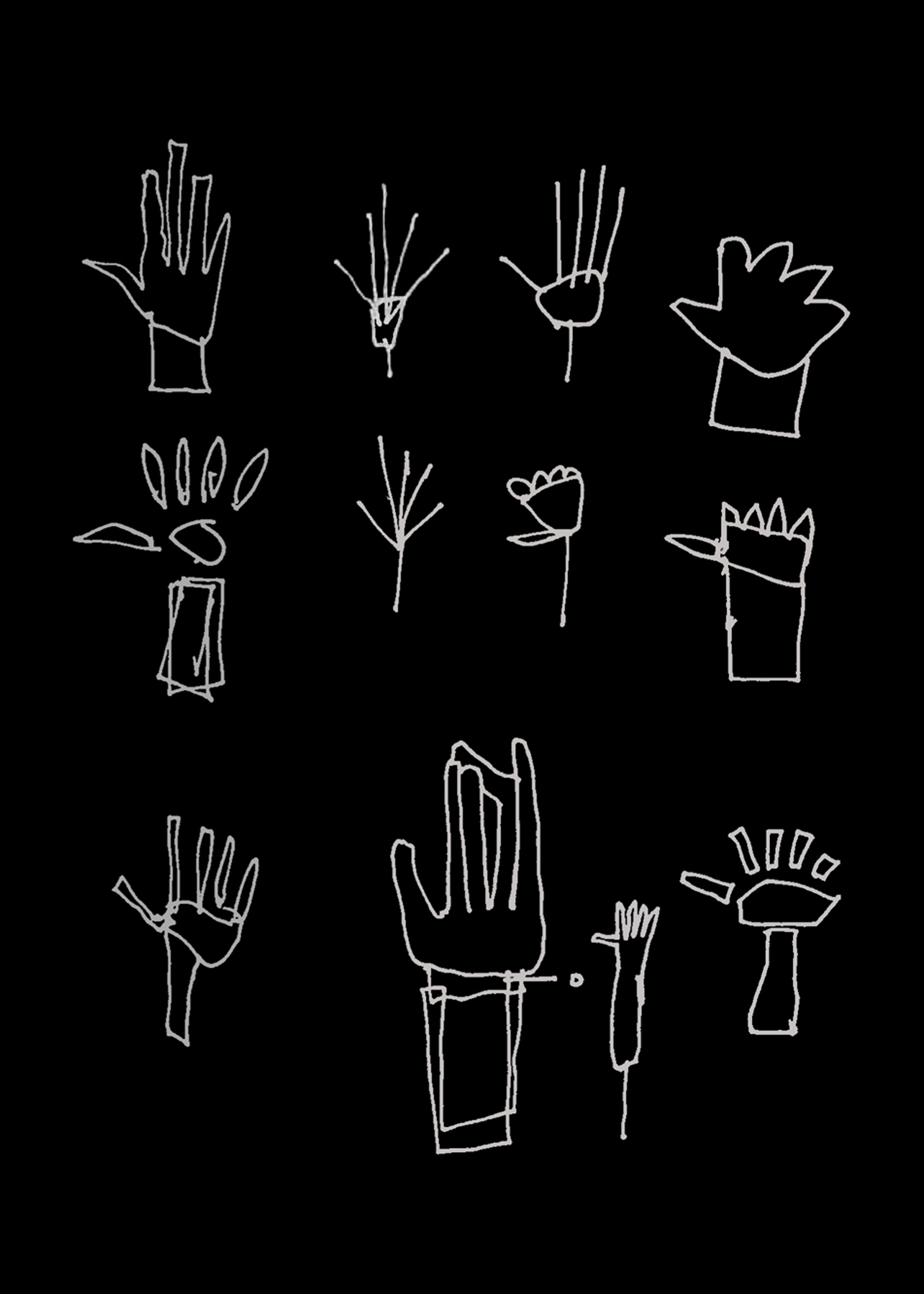 Hand drawings INVERT