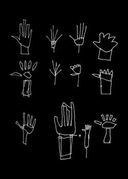 Hand drawings INVERT