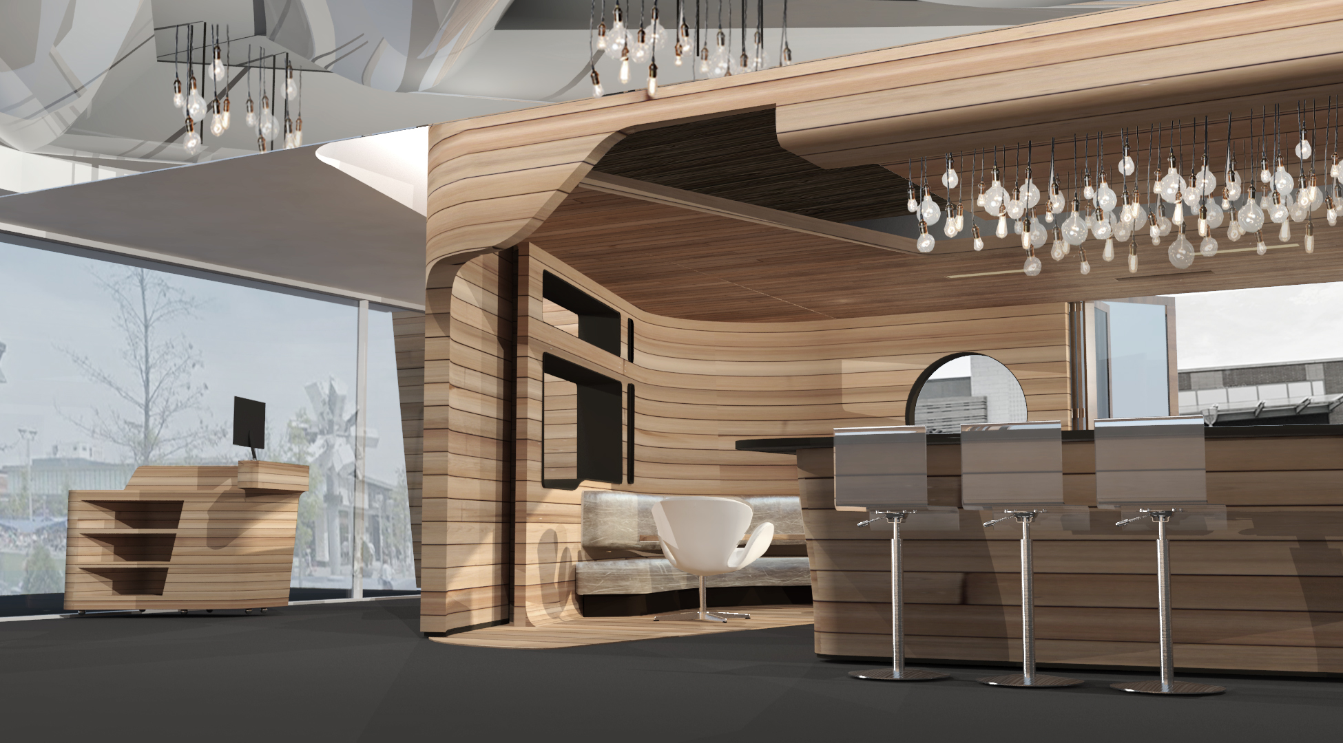 Wood Clad Lounge