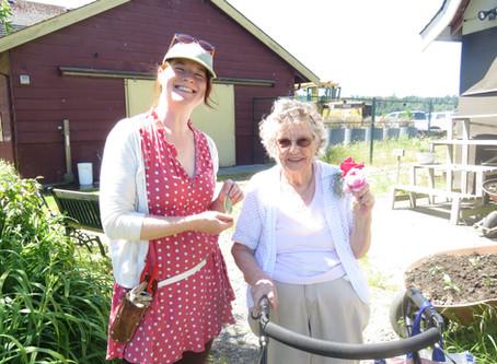 Garden Buddies Program in Delta Optimist