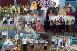Camp Shuva girls collage