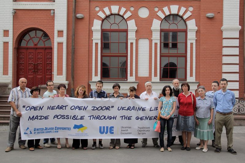 some of our guests from Donetsk