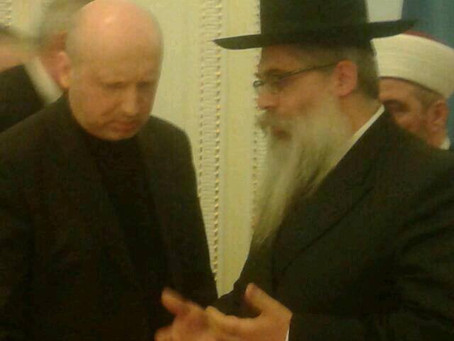 Ukraine chief rabbi: New leader assured me he´ll protect the Jewish community
