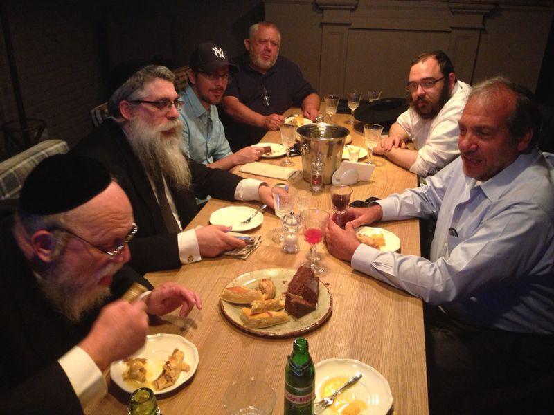 Rabbi Eckstien with Rabbi Bleich
