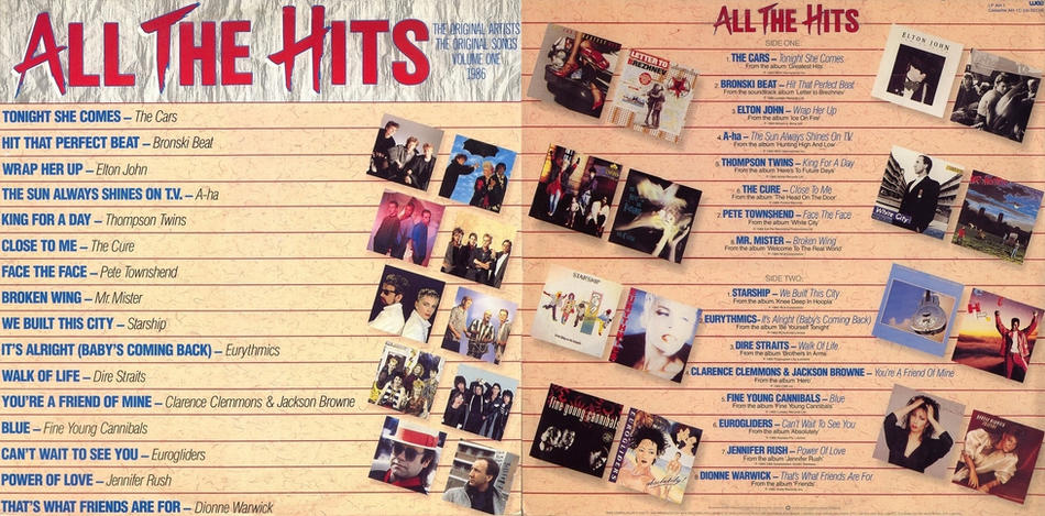 5. All The Hits
