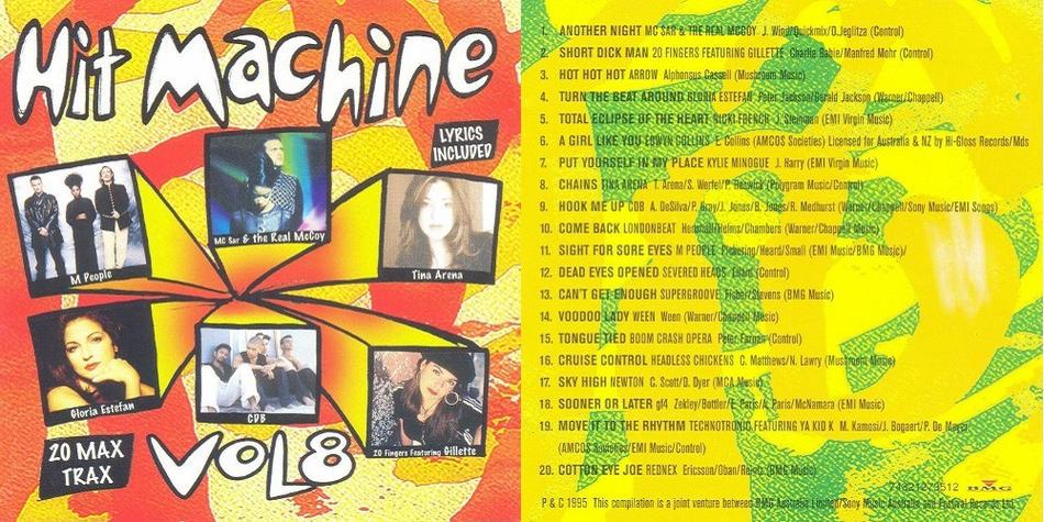Hit Machine Vol. 8