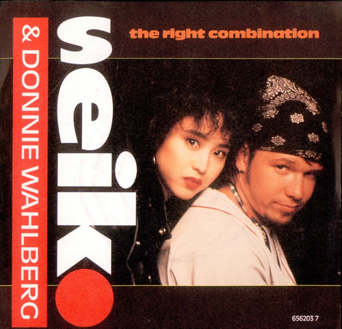 Seiko Donnie Wahlberg The Right Combination