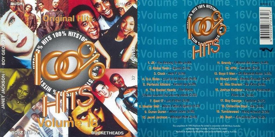 100% Hits Volume 16