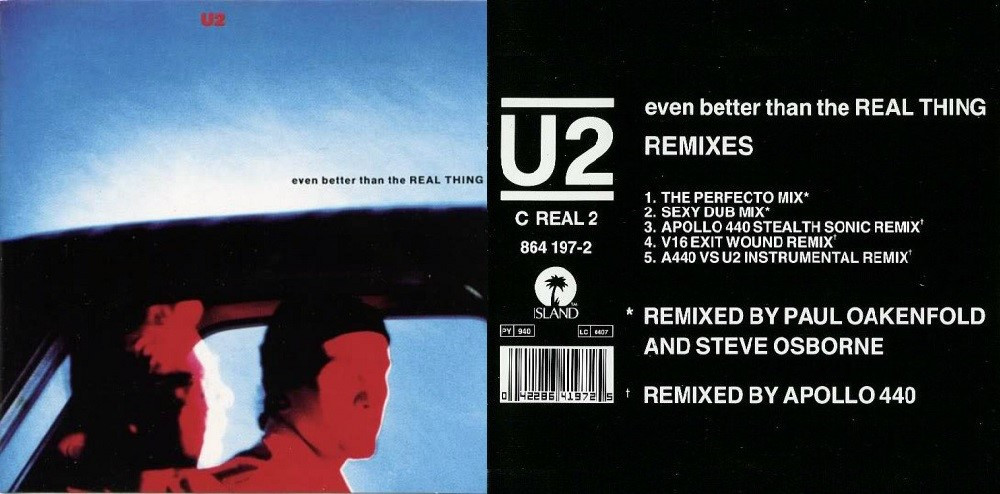 U2 Even Better Than The Real Thing