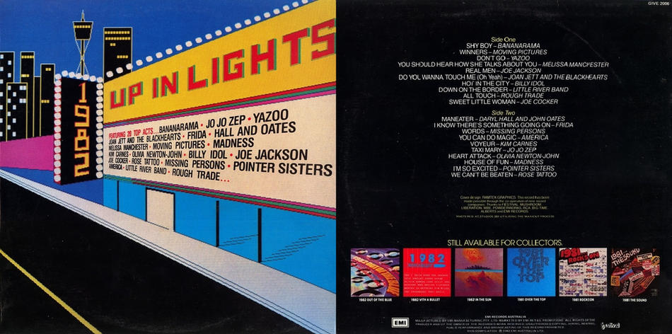 15. 1982... Up In Lights