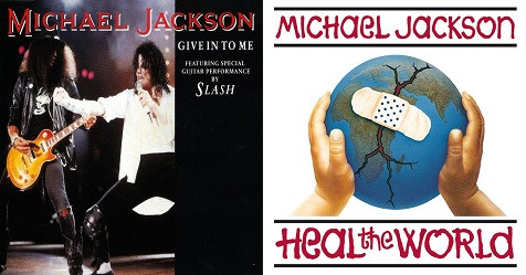 Michael Jackson Give In To Me Heal the World