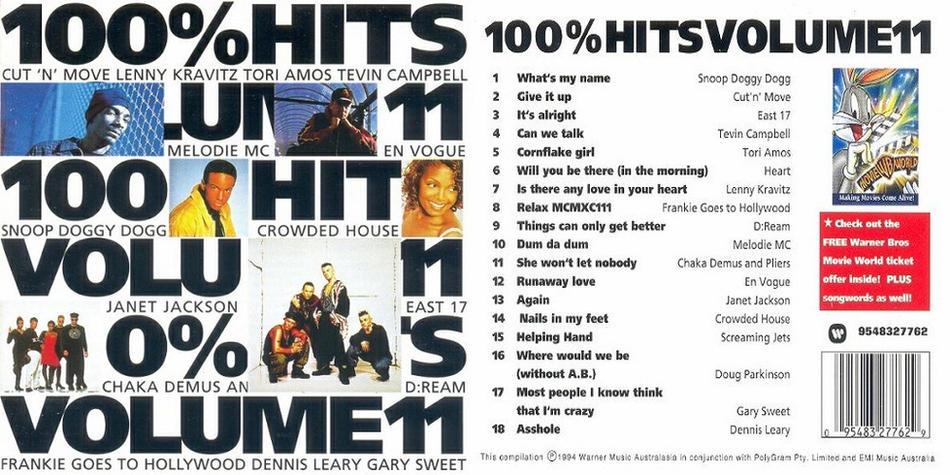 100% Hits Volume 11