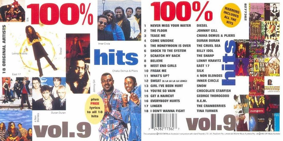 100% Hits Volume 9