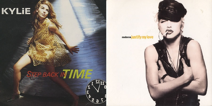 Kylie Minogue Madonna