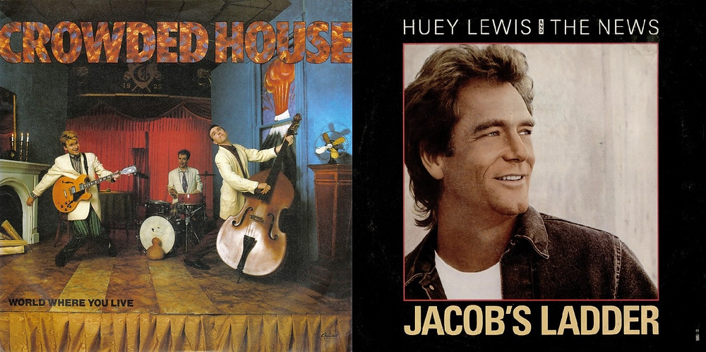 Crowded House Huey Lewis & The News