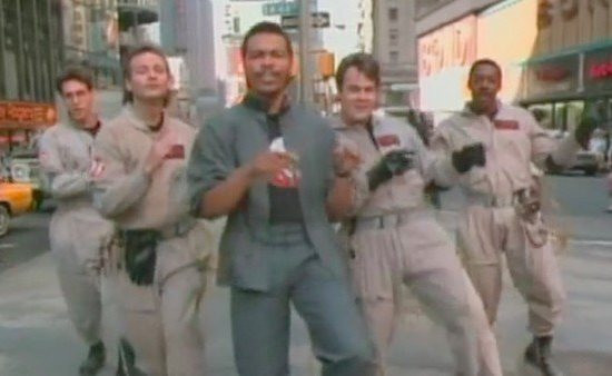 Ray Parker Jr Ghostbusters