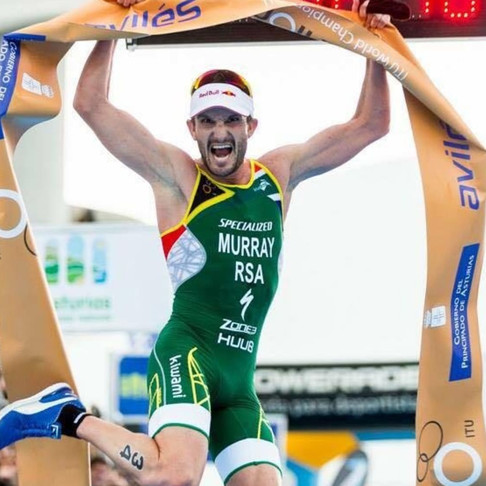 Richard Murray - Multiple Olympic Triathlete, Duathlon World Champion