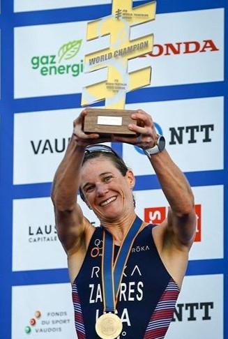 Katie Zaferes - World Champion Triathlete