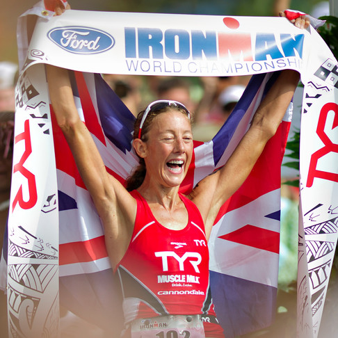 Chrissie Wellington - Four-Time Ironman World Champion