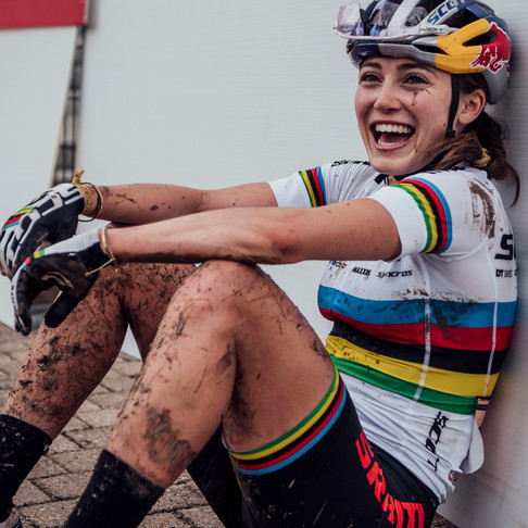 Kate Courtney - Cross Country Mountain Bike World Champion and World Cup Series Champion