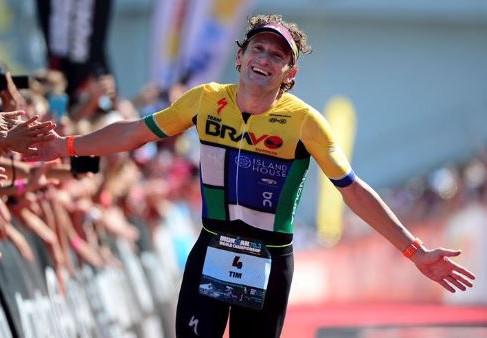 "Tim Don - 4 x World Champion, 3 x Olympian, Ironman World Record holder, ""Man with the Halo"""