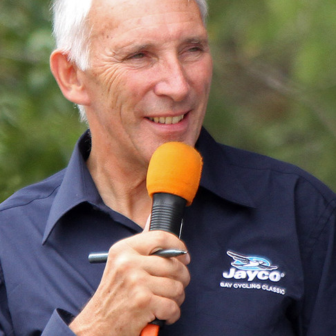 """Phil Liggett - """"The Voice of Cycling"""" World-Renowned Cycling and Olympic Commentator"""