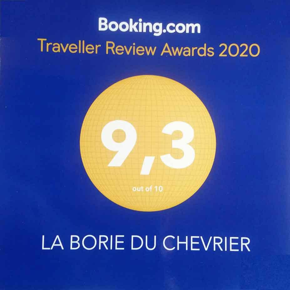 rérécompense pour l'accueil des touristes Booking.com