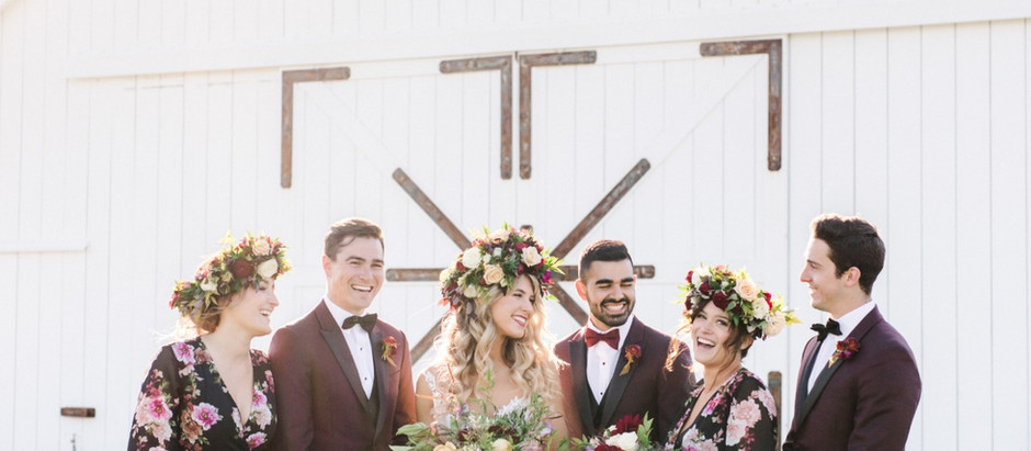 Wedding Chicks Featured | Bold Country Bohemian Wedding Inspiration in California
