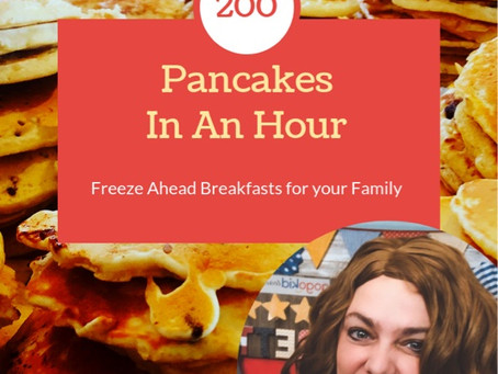 200 Pancakes in One Hour!