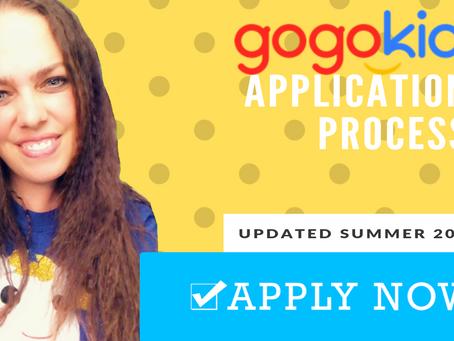 Gogokid Hiring Process (Updated Summer 2019)
