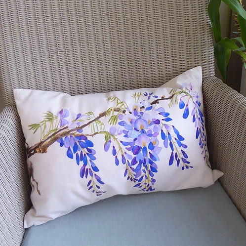 Wisteria Cushion - oblong