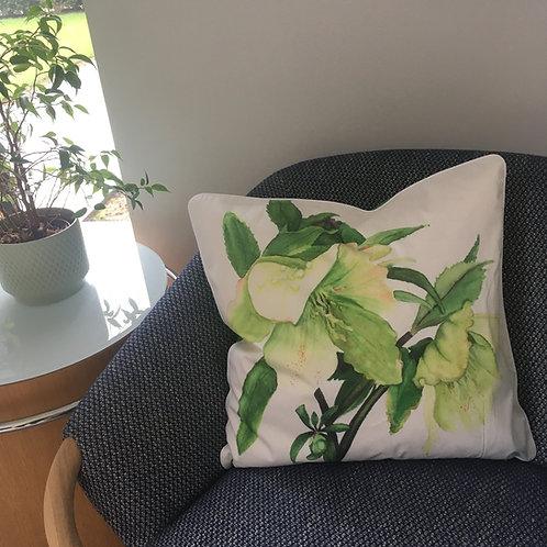 Hellebores Cushion