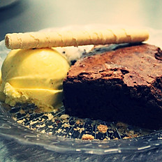 Postre: Brownie