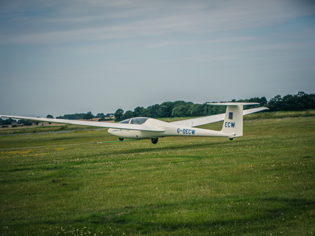 Getting into gliding!
