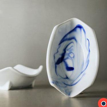 Blue Ink Deep Dish 16cm