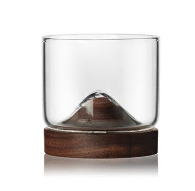 Little Hill Whisky Glass & Stand (Set of 2)