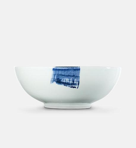 Blue Brush Large Serving Bowl 26 cm