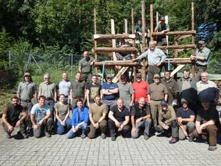 Hochsitzbaukurs 2020 Jagdgesellschaft Rietenberg