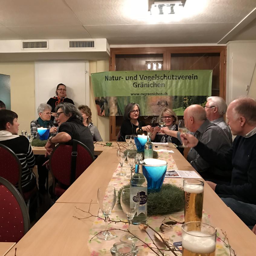 Generalversammlung und Votrag Biber